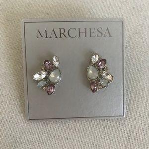 Marchesa Gem Stud Earrings